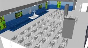 Diseño espacio Evento - Volvo Ocean Race 201